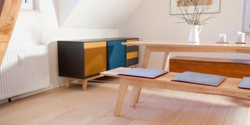 Schreinerei Freiburg Tisch Design Modern
