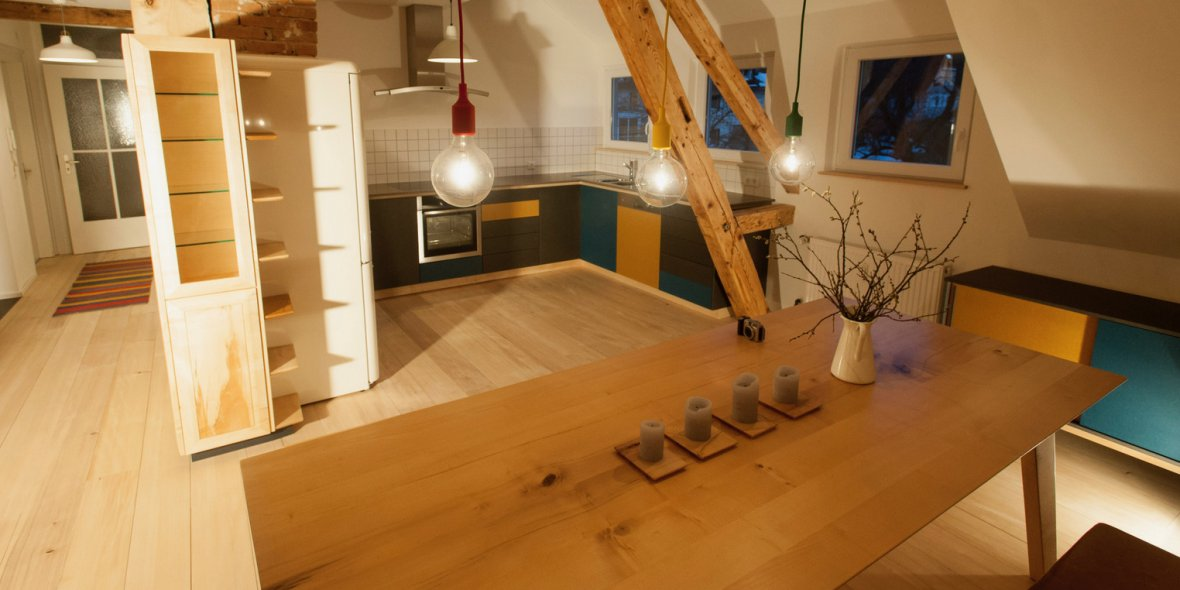 Küche Massivholz Schreinerei Freiburg Maßanfertigung
