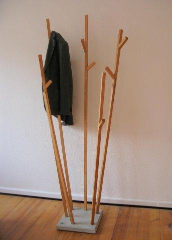 Garderobe Massivholz
