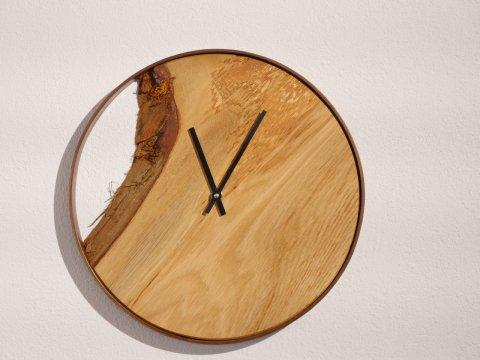 Holz Uhr Massivholz Design Individuell