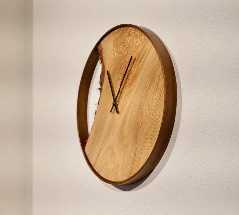Holz Uhr Massivholz Design