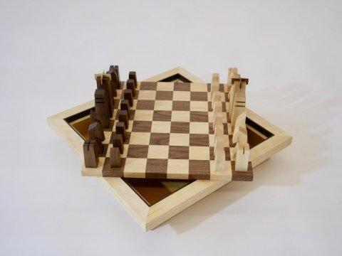 Schachspiel Schreinerei handmade Freiburg