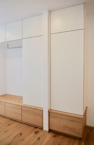 Einbauschrank Garderobe Design Schreinerei Freiburg