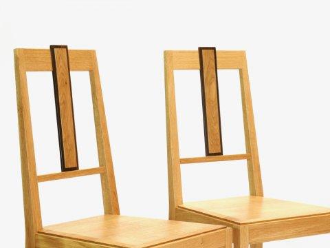 Massivholz Stuhl Edel  Design Freiburg