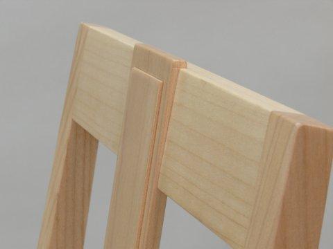Massivholz Stuhl Edel