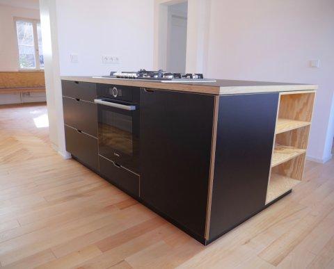 Küchenblock vom Schreiner Freiburg
