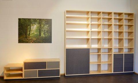 Regal Sideboard Massivholz Design
