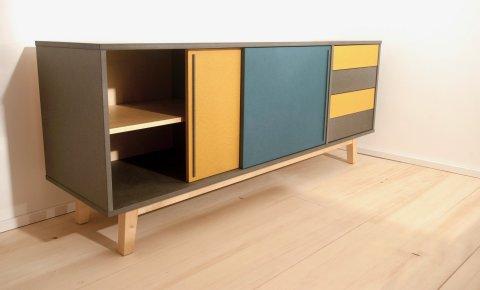 Möbel aus Valchromat