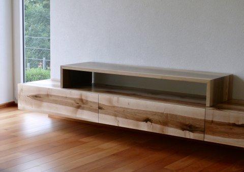 Sideboard Modern Nussbaum Schreinerei Reichenbach
