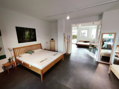 Probeliegen Bettengeschäft Freiburg Naturmatratzen
