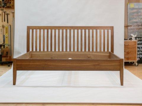 Doppelbett Sprossen Kastanie